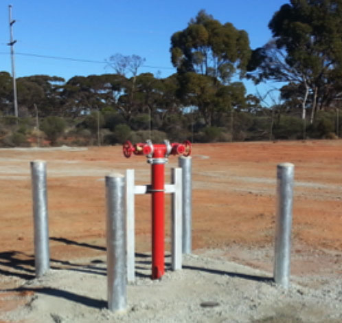 Upgrade Fire Hydrant System Aerison